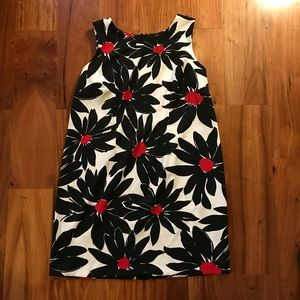 Woman's Plus Size Sleeveless Flora Dress
